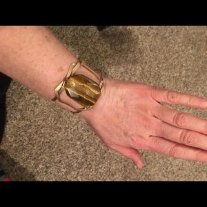 Brown stone band bracelet brand NEW AVON